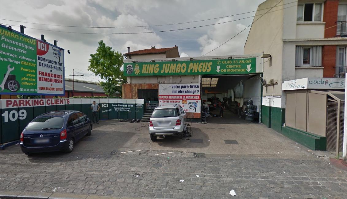 JUMBO PNEUS KING – 93 AUBERVILLIERS