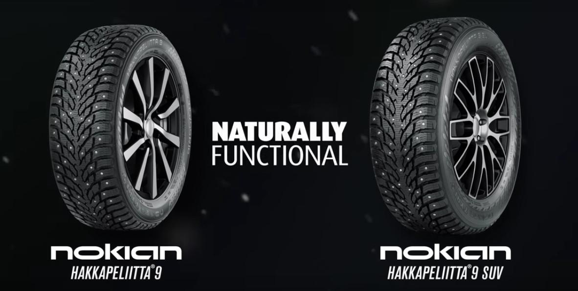 Partez à l'assaut des montagnes avec le pneu Nokian Hakkapeliitta 9 !