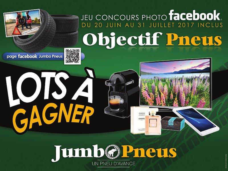 [CONCOURS PHOTO FACEBOOK] Jumbo vous offre des tas de cadeaux !