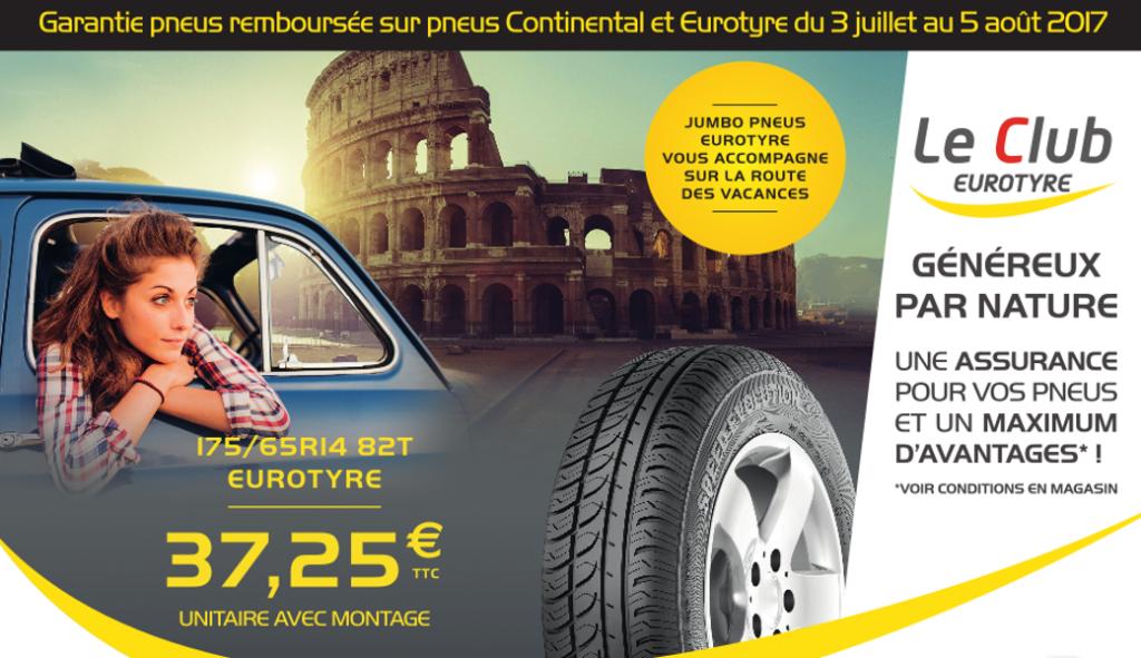 garantie eurotyre continental promo