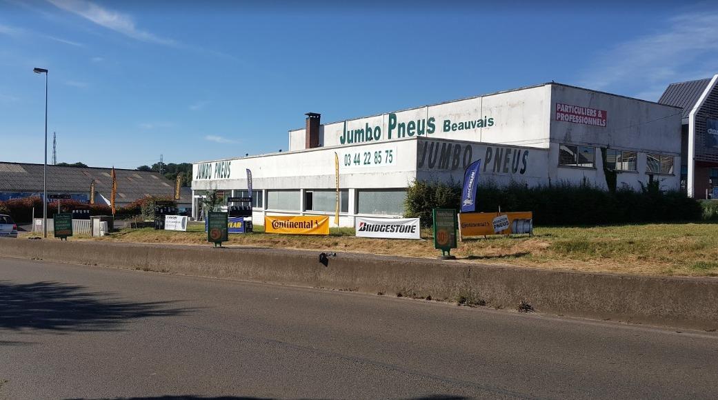 JUMBO PNEUS 60 – BEAUVAIS - FERME POUR TRAVAUX