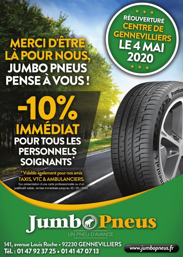Promo pneus 92