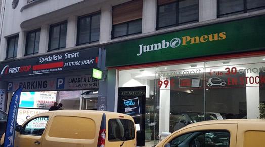 Jumbo Pneus 75008 - Paris