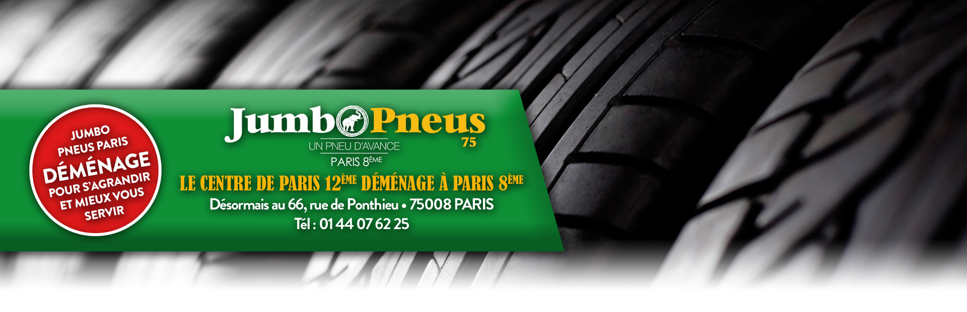 Centre du pneu pas cher à Paris
