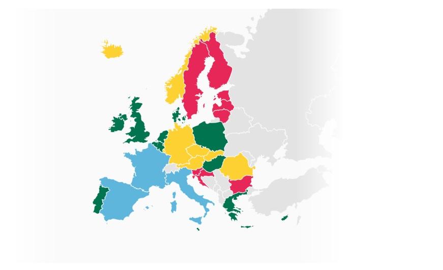 Où est-ce que les pneus hiver sont-ils obligatoires en Europe ?