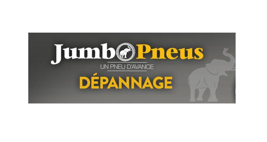 Jumbo Pneus intervient à domicile, 24h/24, même le dimanche !