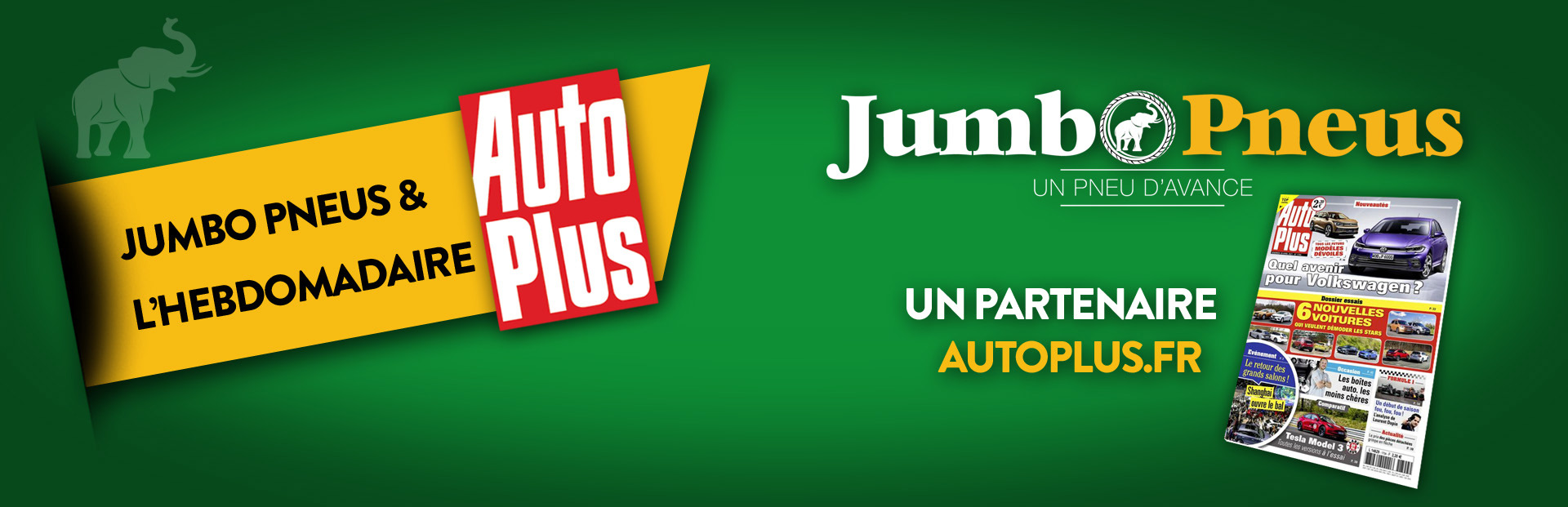 Jumbo Pneus - Partnaire Auto Plus